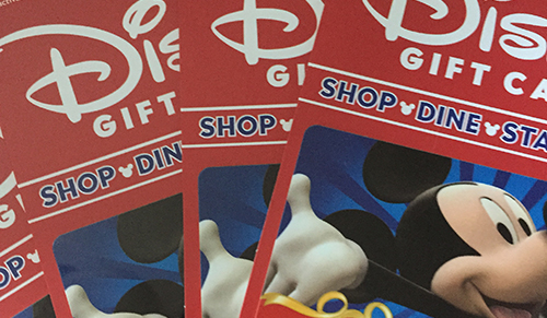 GIVEAWAY!! Enter To Win a $50 Disney Gift Card