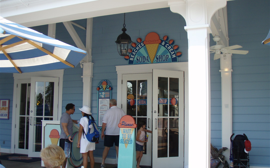 Beaches and Cream at Disney's Yacht and Beach Club