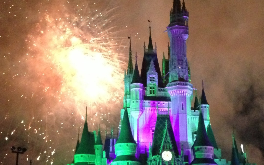 Wordless Wednesday: HalloWishes at the Magic Kingdom